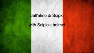 Italy National anthem Italian & English lyrics