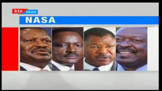 NASA holds meetings over likelihood of another Raila -Kalonzo presidential ticket during elections