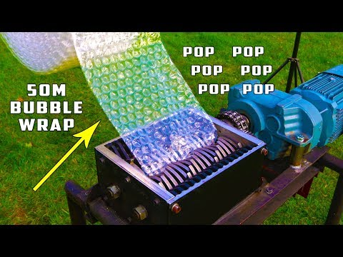 The Fastest Way to Pop Bubble Wrap
