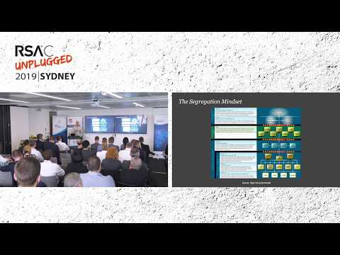 RSAC Unplugged 2019 Sydney: ICS Security: Why People and Culture Matter Most