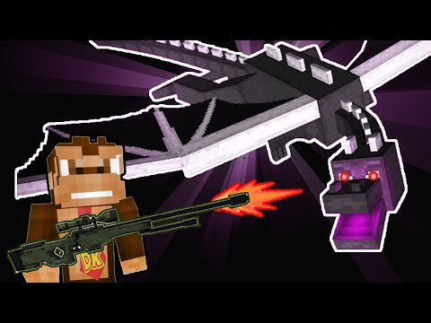 Minecraft Gun Speedrun (I SHOT THE ENDER DRAGON)