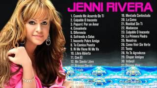 Las 25 Mejores Canciones de Jenni Rivera Baladas Románticas - Exitos MIX