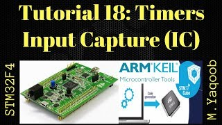 STM32F4 Discovery board - Keil 5 IDE with CubeMX: Tutorial 18 Timers - Input Capture
