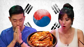 Koreans Try To Guess Their Moms' Kimchi