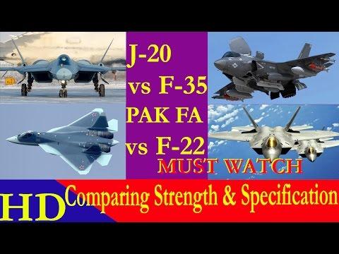 Air Superiority Match 3   1 F35 Vs  4 J-20s - смотреть