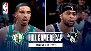Full Game Recap: Celtics vs Nets | Tatum & Russell Both Go For 30+ Points