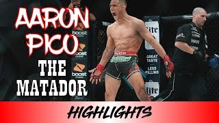 Aaron Pico Highlights 2018 (THE MATADOR)