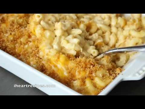 Southern Baked Macaroni & Cheese Casserole – I Heart Recipes