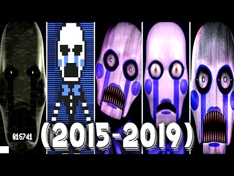 Evolution of Vinnie in FNAC 1, 2, 3, Remastered (2015 - 2019)