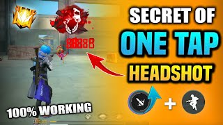 Free Fire Latest One Tap Auto Headshot Trick || Total Explain || FireEyes Gaming || Garena Free Fire