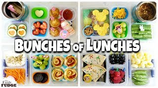 NO SANDWICHES! School LUNCH IDEAS for jk, 1st grader, 3rd grader 🍎 Bunches of Lunches WEEK 3