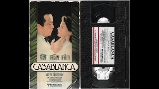 Opening to Casablanca 1981 VHS