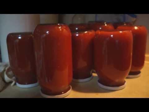 Πώς να φτιάξεις σάλτσα ντομάτας - κονσέρβα στο σπίτι