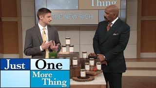 18-year-old business owner is helping others! || STEVE HARVEY