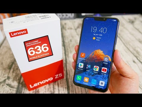 Lenovo Z5 Full Review in English - Best Snapdragon 636 Gaming Phone