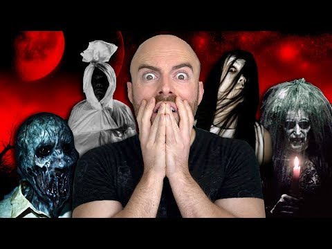 10 Signs That You're Being HAUNTED (видео)