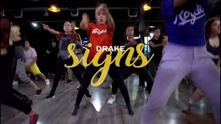 Signs - Drake | Choreography by Erik Hibo & Sheli Gab