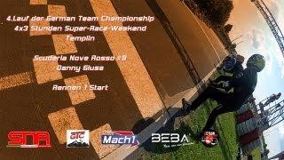 preview picture of video 'GTC - Scuderia Nove Rosso / Danny Giusa - Templin Rennen 1 Le Mans Start'