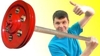 🌑 АНТИГРАВИТАЦИЯ ПОМОГИ! Эксперимент огромный гироскоп  Anti-Gravity Wheel Игорь Белецкий