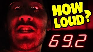 I bought a decibel meter to see how loud I am AND ALSO how loud the entire world around me is! What's the loudest sound I can find? How loud can I scream? The results will SHOCK YOU!! Also it's my birthday.