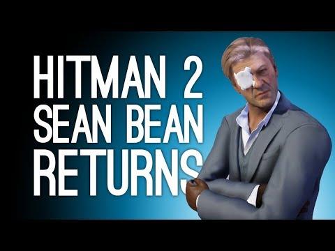 Hitman 2 Sean Bean Returns: SNIPER AND ROBOT