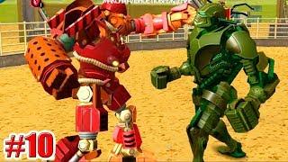 """КАК ПОБЕДИТЬ ЗЕВСА?!! """"ZEUS"""" Real Steel World Robot Boxing (ЖИВАЯ СТАЛЬ) (10 серия)"""