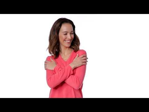 Emilia Parker Damen 100% Kaschmir V-Pullover - 235.844 | Personalshop
