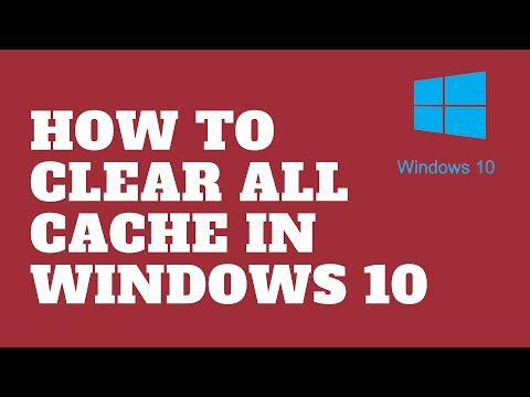 How to Clear All Cache in Windows 10