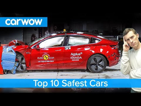 Top 10 SAFEST cars of 2019 - including the Tesla Model 3!