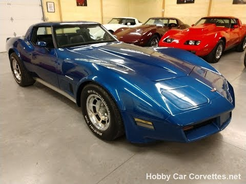1982 Blue Blue Corvette For Sale Video