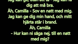 Camilla - Basshunter Lyrics