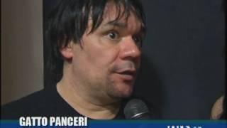 Intervista fine concerto Gatto Panceri per Telethon
