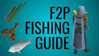 Old School RuneScape - F2P Fishing Guide [2019]