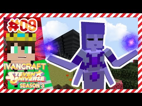 TANZANITE FUSION IS HERE TO HELP!!!   Steven Universe KAGIC Minecraft Let's Play   IVANCRAFT [9]