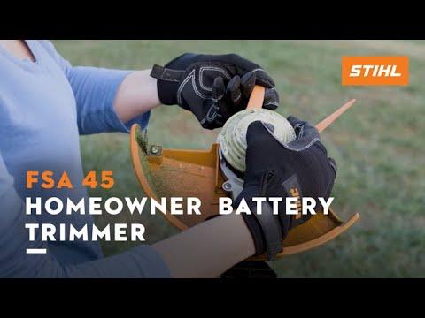 Stihl FSA 45 in Greenville, North Carolina - Video 1