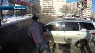 В Хабаровске очередной рейд  СтопХам  завершился дракой