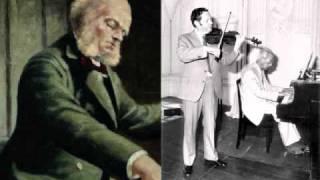 César Franck: Violin Sonata (1/2) - Arthur Grumiaux & István Hajdu