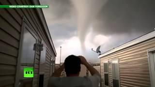 Смотреть онлайн Торнадо в США 28 мая 2014
