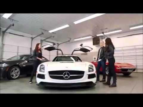 Riding Shotgun with Michelle Rodriguez Episode 7 Mercedes SLS AMG