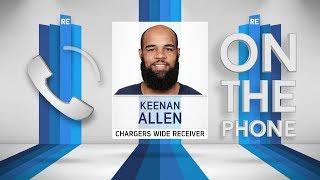 Chargers WR Keenan Allen Talks Phil Rivers, Clemson & More w/Rich Eisen | Full Interview 1/8/19