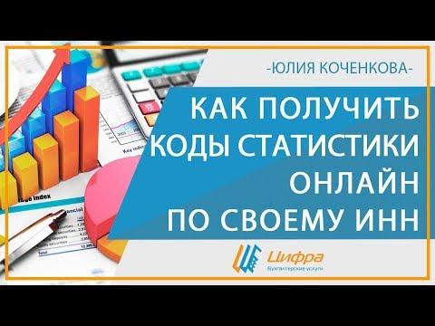 Коды статистики онлайн по ИНН для организации и ИП