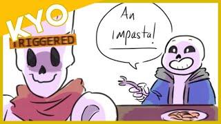 Nobody Likes Sans' Puns (Hilarious Undertale Comic Dub)