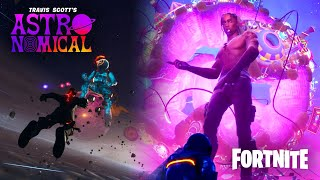 Fortnite Travis Scott Event [SONG NAMES AND NO COMMENTARY]