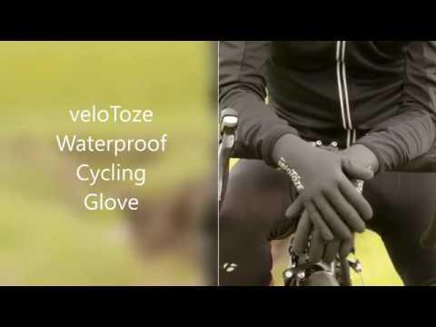 Velotoze Vandtætte Neopren Cykelhandsker video