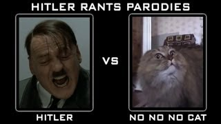 Hitler Vs No No No Cat