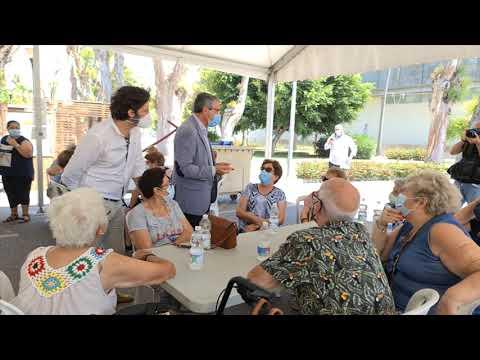 Más de 1.200 mayores de 65 años del interior de la provincia participan en La Gramola, el guateque de la Diputación que concluye hoy en La Térmica