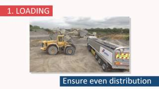 CEMEX UK Tippers Roll Over Safety Film