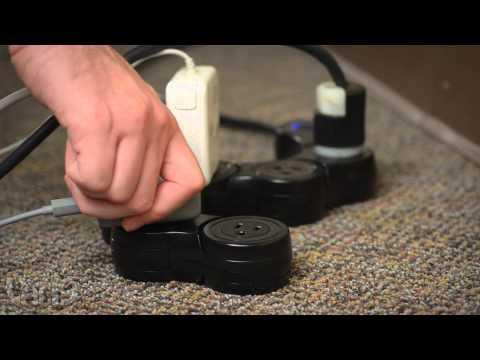 Pivot Power Flexible Power Strip