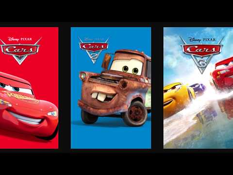 Disney Pixar Cars Movie Release Editions - Blu Ray Physical And Digital Copy