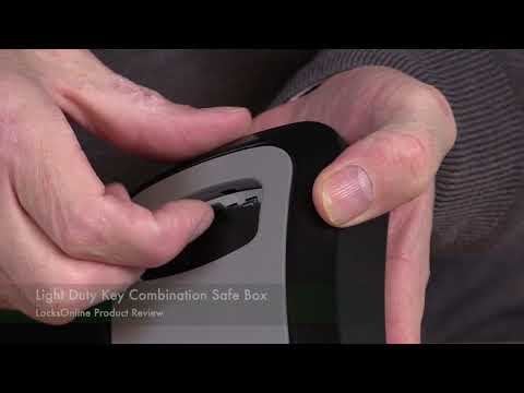 Light Duty Key Combination Safe Box   LocksOnline Product Review